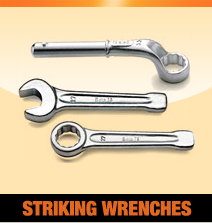 Striking or Slogging wrenches