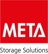 META Storage Solutions-CLIP S3 shelving Basic rack unit 6xV150 98x39x12 galv.